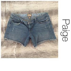 Pants - Paige Jimmy Jimmy Denim Shorts 28